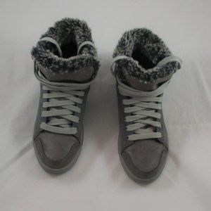 Skechers Leather Faux Fur Lined Boot - Size 7